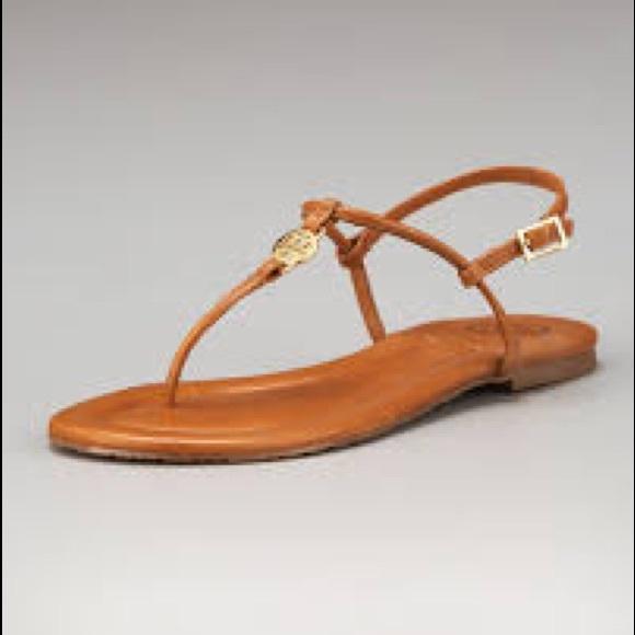 90db2d67483d1 Tory Burch Emmy thong flat sandals. M 5b8ecef40945e04b8008f738